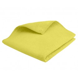 Microfibre Tricot SOFT jaune 40x40