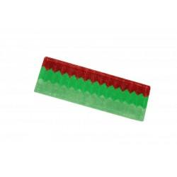 Frange microfibre tricomposition 48cm velcro