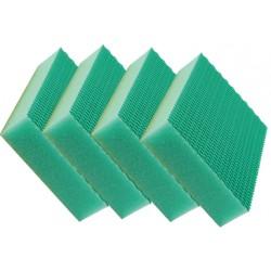 Eponge HACCP Color clean vert par 4