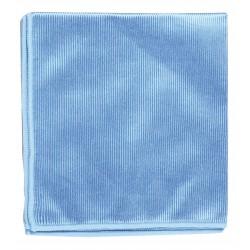 Microfibre vitre Lavette Bleu