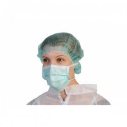 Masques chirurgical 3 plis vert