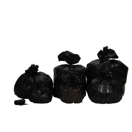 Sacs poubelle 100L Noir Standard