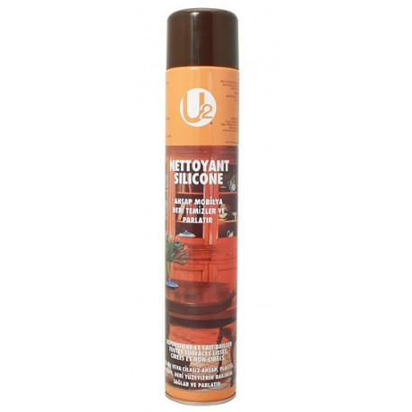 Aérosol polish meuble avec silicone 750 ml