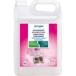 Détartrant désinfectant Enzypin sanitaire 5L