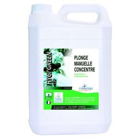 Plonge manuelle Hygigreen 150 concentré 5L