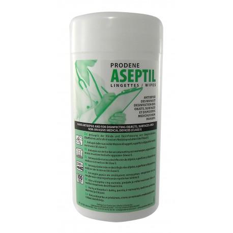 Lingettes Aseptil désinfectante