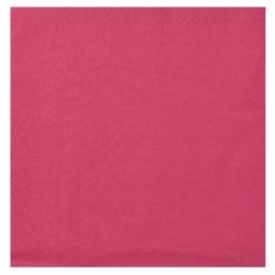 Serviettes Ouate framboise 20x20 2 plis