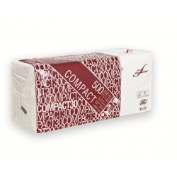 Serviettes Ouate Blanc 30x30 1 plis