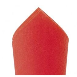 Serviette ouate 38x38 Rouge