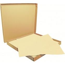 Nappe papier Vanille 70x70